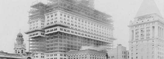 Trinity Church Lower Manhattan Wall Street 1914 New York City Cropped