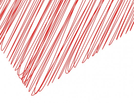 Red Scribble